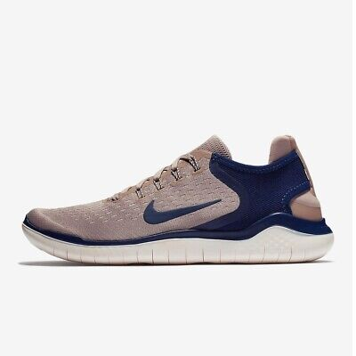 8390a13ac8b41 BRAND NEW Nike Free RN 2018 Men s 10.5 Diffused Taupe   Guava Ice   Blue  Void