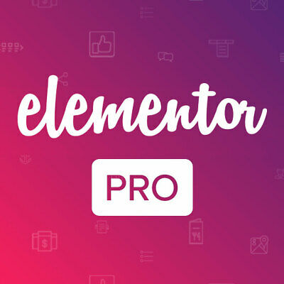 Elementor Pro - Best Wordpress Page Builder + Templates - Latest 2019 Version