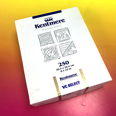"""Kentmere Photographic  VC Select  Fine Luster Paper 8 x 10"""" - 250 Sheets #7306"""
