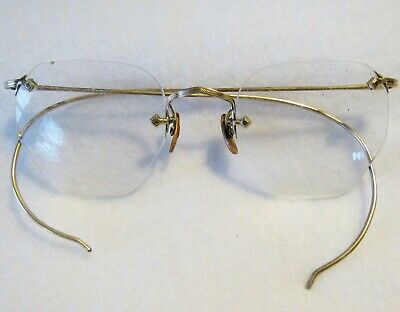 VTG American Optical AO 1/10 12K Gold Filled Ful-vue Eyeglass Frames Glasses 402
