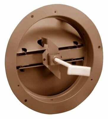 "Hart & Cooley 12 Series 6"" Round Steel Butterfly Ceiling Damper Vent HVAC 06 QS"
