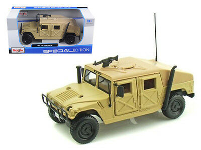 Hummer Military Humvee Sand Diecast Truck 1/27 Scale Model By Maisto 31974