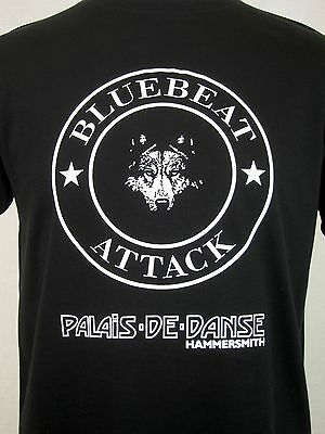 The Clash Inspired T-Shirt (White Man) In Hammersmith Palais Bluebeat Punk