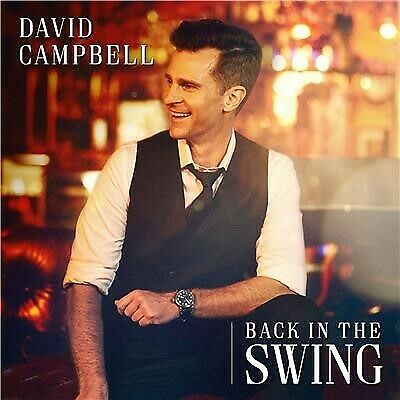 DAVID CAMPBELL Back in the Swing (Personally Signed) CD NEW