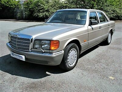 Mercedes Benz 500SE W126 1991 'H' Registration, Just 99k miles from new, Classic