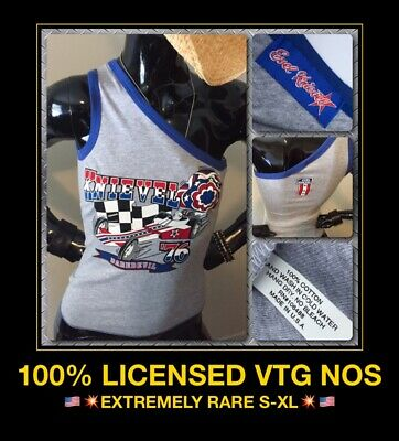 Vtg Evel Knievel 70s Ideal Stunt Cycle Dragster 1 Shoulder 90s Tank Top T-shirt