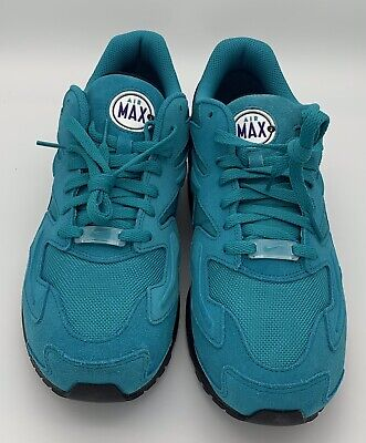 huge selection of 6deb5 37f65 NIKE AIR MAX2 LIGHT SPIRIT TEAL COURT PURPLE AO1741-300 Size 10.5
