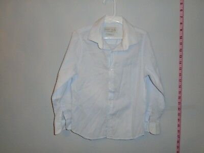 Boys ZARA Dress Shirt Light  Blue Long Sleeve Size 7