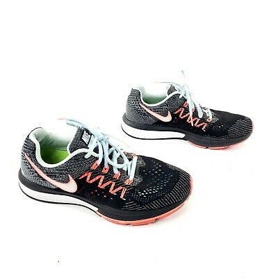 more photos 215b6 6a070 Nike Women s Air Zoom Vomero 10 Shoes Ice Black Lava White (717441
