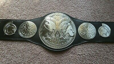 WWE Shop Tag Team Replica plates on Real Leather WWF Usos Hardy Boys
