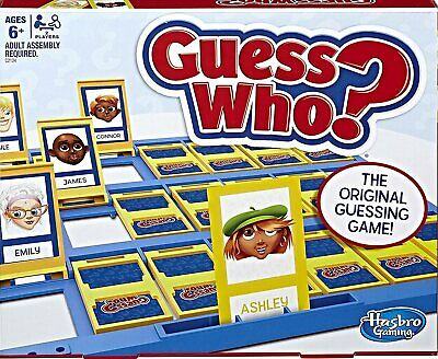 Guess Who Game, Classic Game By Hasbro