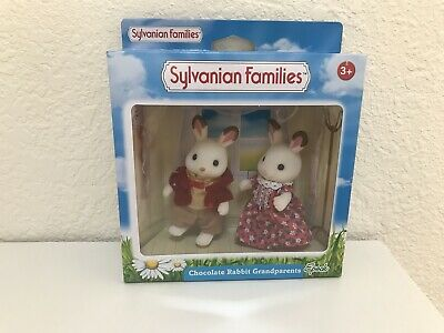 Sylvanian Families FRIESIAN COW GRANDPARENTS Flair UK 4422 Rare Calico Critters