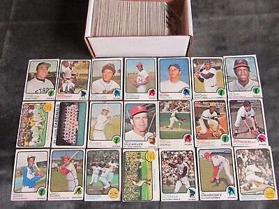 Lot Of 262 Different 1973 Topps Baseball Cards Vintage Partial Set