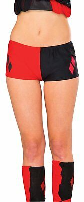Harley Quinn DC Comics Licensed Boy Shorts Costume Suicide Squad Movie Halloween