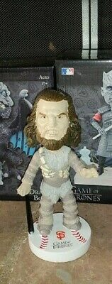 SF Giants Game of Thrones 2018 Wun Wun Bobblehead VIP Event 09/10/18 NIB