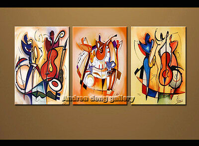 Large Modern Wall Art Alfred Gockel Arts Repro Abstract Oil Painting Canvas Deco