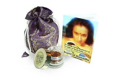 SCENT OF SAMADHI - all-natural herbal deodorant and perfume