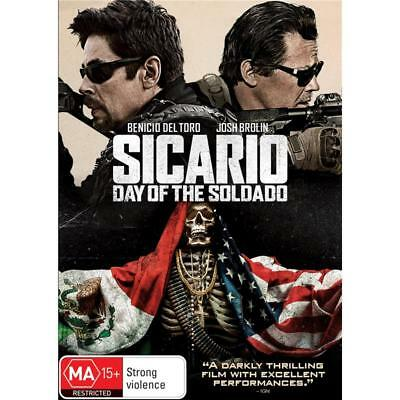 Sicario Day of the Soldado (DVD, 2018)