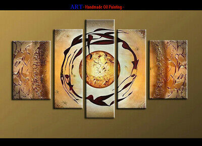 Large Framed Modern Abstract Oil Painting on Canvas Contemporary Wall Art A1081
