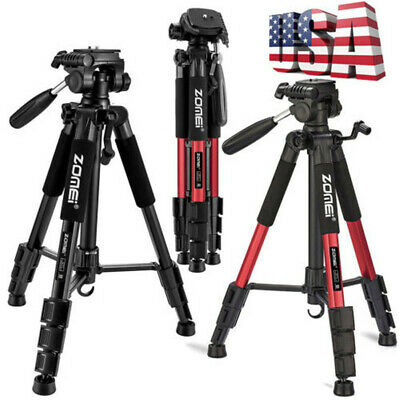 New ZOMEI Q111 Professional Aluminum Travel Tripod&Pan Head For Camera Camcorder