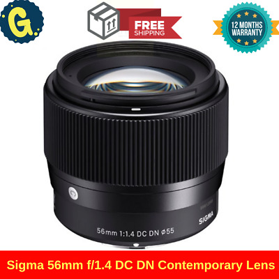 Brand New Sigma 56mm f/1.4 DC DN Contemporary Lens for Sony E mount DSLR Lens UK