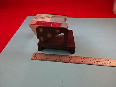 Leitz Germany Prism Microscope Part As Pictured Optics As Is 27-A-16