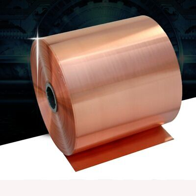 0.02-0.05mm 99.9% Pure Copper Sheet Plate Material Thick for Handcraft Aerospace