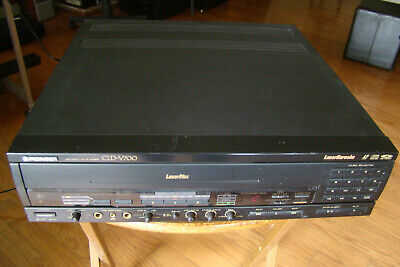Pioneer CLD-V700 Karaoke LD/CD Multi Laser Disc Player Tested Working Condition