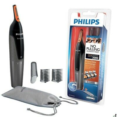 Philips NT3160/10 Ear Nose Eyebrow Trimmer Cleaning No Pulling Water Resistant