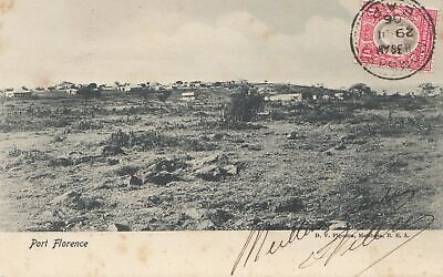 Uganda 1906: post card Port Florence to Bordeaux