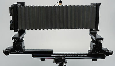 Horseman LM Pro Deluxe 4x5 Camera Body with Built In Rail Extension, FILM