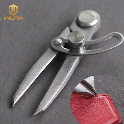 """WUTA Steel Scratch Compass Wing Divider Scriber Leather Marking Edge Tool 4"""""""