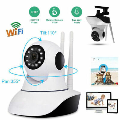 1080P HD WIFI Wireless Security Camera Indoor CCTV Home Smart Wifi Baby Monitor