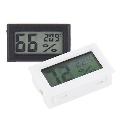 For Home Car Digital Meter Lcd Temperature Humidity Thermometer Hygrometer