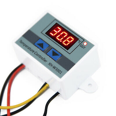 Mini DC12V Digital LED Temperature Controller Thermostat Control Switch Kit hot