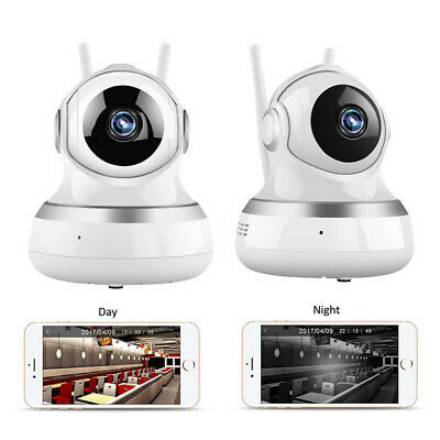 Wireless Digital Wifi Baby Room Audio Video Monitor Camera Security HD Vision