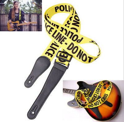 Adjustable Soft Guitar Strap Acoustic Electric Guitars Belt Bass Durable Yellow