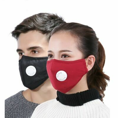 Mask Dust Respirator Anti Allergy Mouth Muffle Pollution Reusable Travel Masks