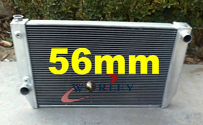 5 ROW 56mm Aluminum Radiator for Ford Falcon XC XD XE XF V8 or 6 cylinder AT MT