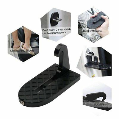 Universal Folding Car Door Pedal Portable Truck Doorstep Safety Step Hammer AU !