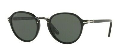 036fb58ba0 SUNGLASSES PERSOL PO 3184 S 95/31 49 21 145 black 100% Authentic new ...