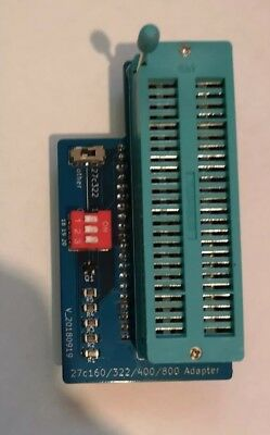 27C322 / 27C160 / 27C800 / 27C400 adapter board for TL866 programmer