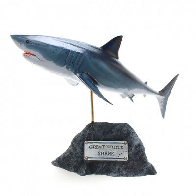 Kaiyoukoubou Great white shark Realistic shark figure Fish carving Jaws F/S