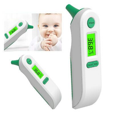 Latest Dual Mode Digital Medical Forehead Ear Thermometer for baby adults 2019