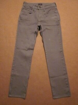 NWT NYDJ Not Your Daughters Jeans SAMANTHA SLIM Vintage Taupe Petite Pants