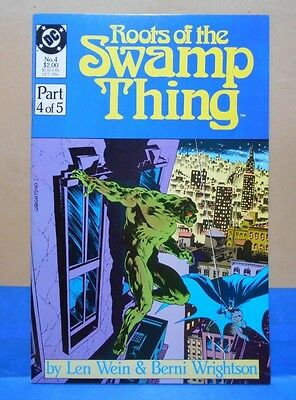ROOTS OF THE SWAMP THING #4 of 5 1986 DC 9.0 VF/NM Uncertifed REPRINTS ORIGINAL