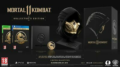 Mortal Kombat 11 Kollector's Edition Sony Ps4 English Collectors Collector's