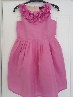 Girl's Next Signature Pink Dress Size 7 years Excellent Condition