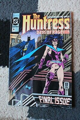 The HUNTRESS Book DC COMICS Issue 19 Oct 1990 RARE Vintage 'Days of Rage' Part 3