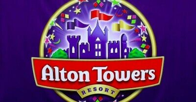 2x ALTON TOWERS RESORT E-Tickets valid on Tuesday 3rd September 2019